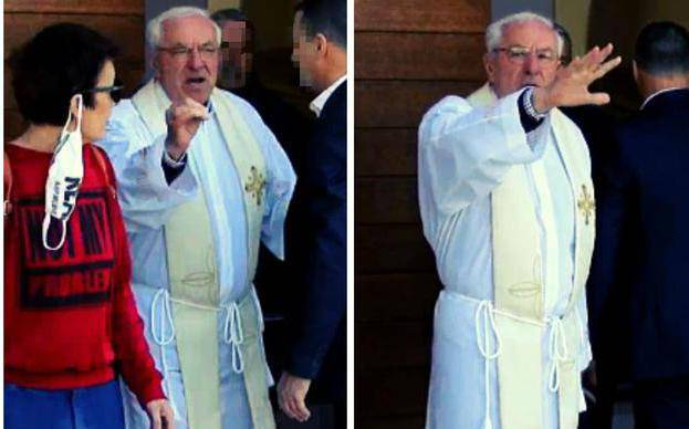 Don Delaš opet držao misu na Sirobuji, policija pred crkvom