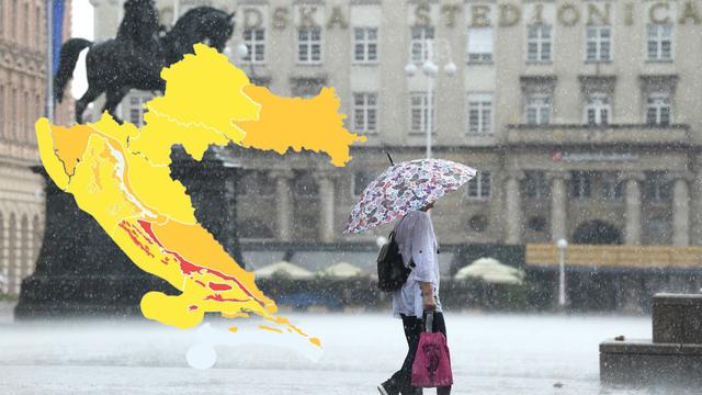 Upozorenje za cijelu zemlju: Početak kolovoza donosi veliku promjenu vremena za Hrvatsku