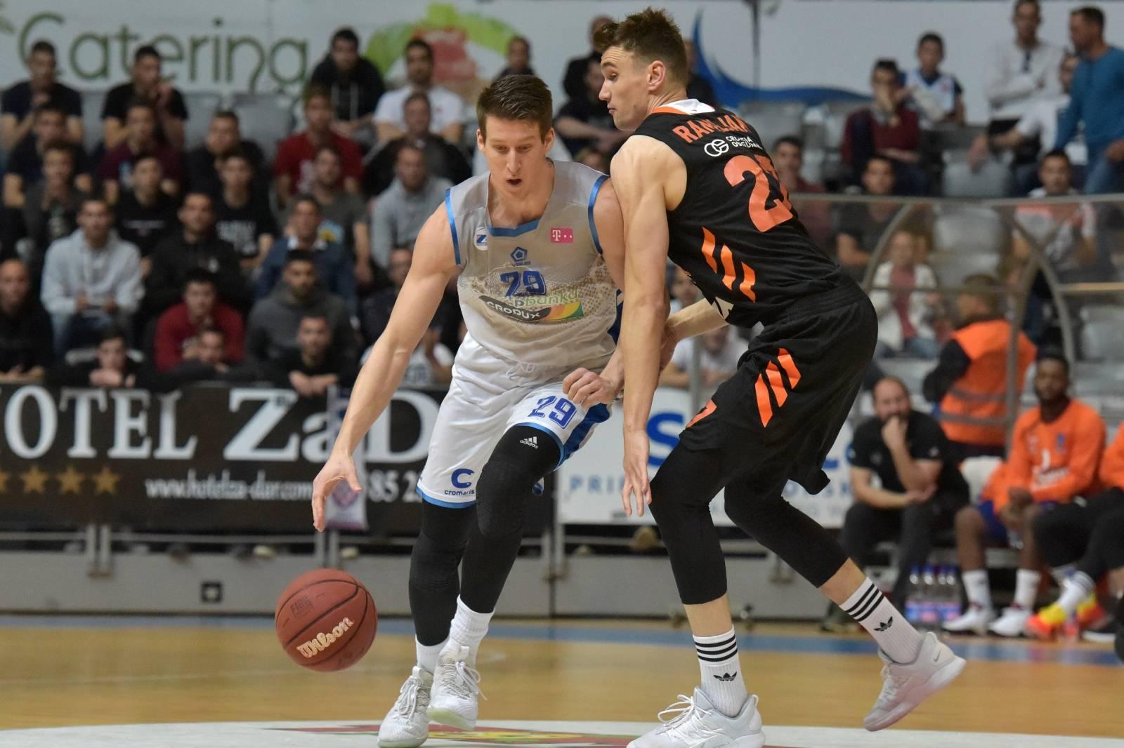 Zadar: Prva utakmica polufinala HT Premijer lige, KK Zadar - KK Cedevita