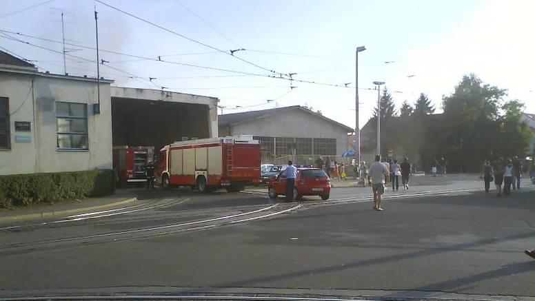 U ZET-u na Remizi izbio je požar, ozlijeđenih nije bilo