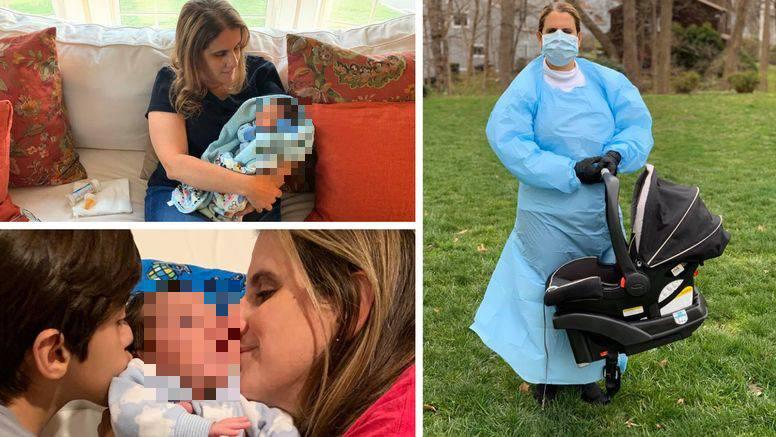 Obitelj se zarazila koronom pa je učiteljica odlučila preuzeti brigu nad tek rođenom bebom