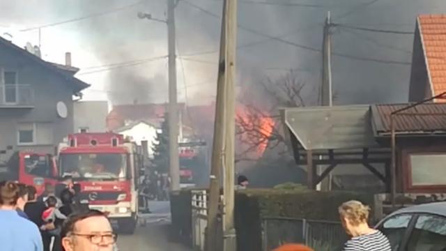 Požar u Zagrebu: 'Cijela ulica se u trenu napunila dimom'