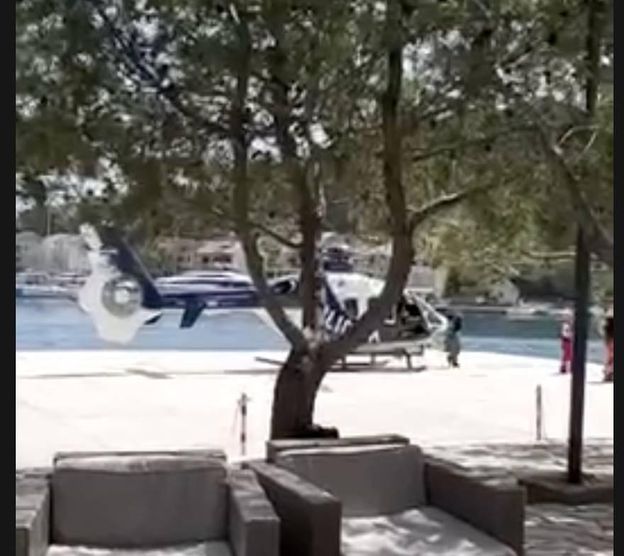Pogledajte trenutak kada policija helikopterom spašava ozlijeđenog češkog biciklista