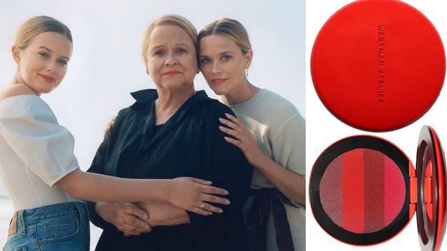 Reese Witherspoon, njezina kći i mama nose istu nijansu ruža