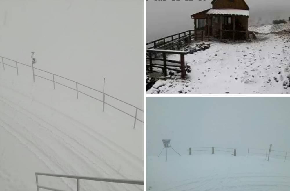 Zabijelili se Dinara i Biokovo, a snijeg ove noći stiže i u nizine