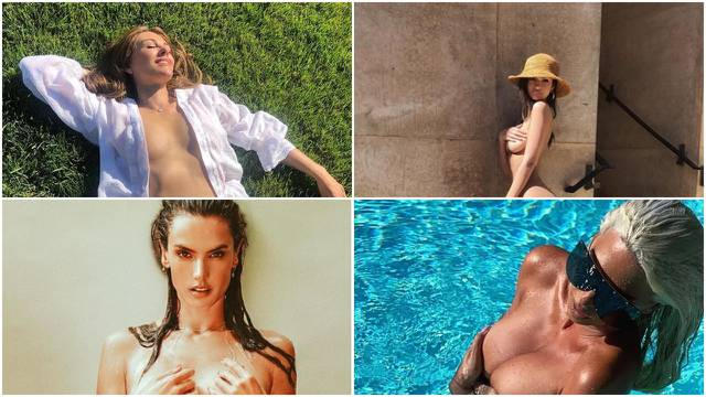 Bilo kuda, 'vrući' toples svuda: Ove dame vole pokazati obline