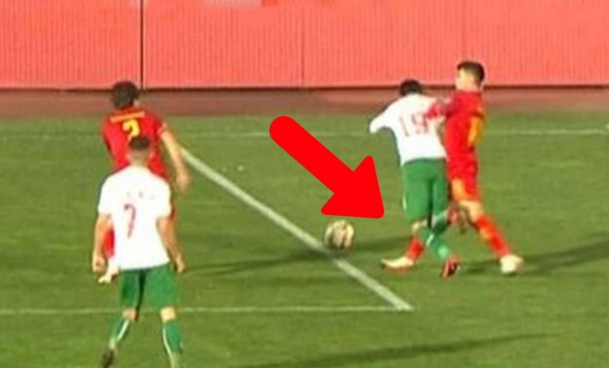 Jel ovo moguće?! Svirao penal Bugarima pola metra van 16!