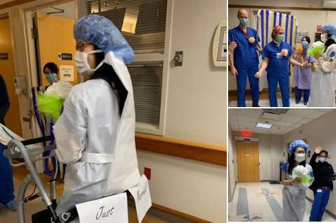 Kolege iznenadile liječnički par s 'video bolničkim vjenčanjem'