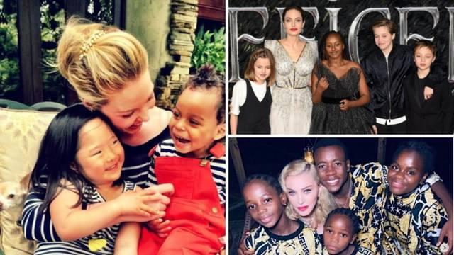 Slavni koji su posvojili djecu: Pružili su im svoju ljubav i dom