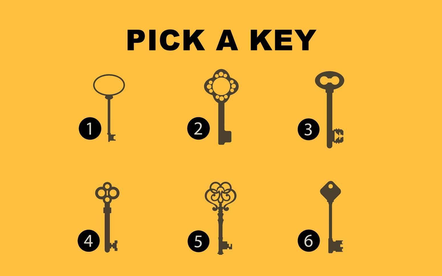 Koji ključ vas najviše privlači? To otkriva puno toga o vama...