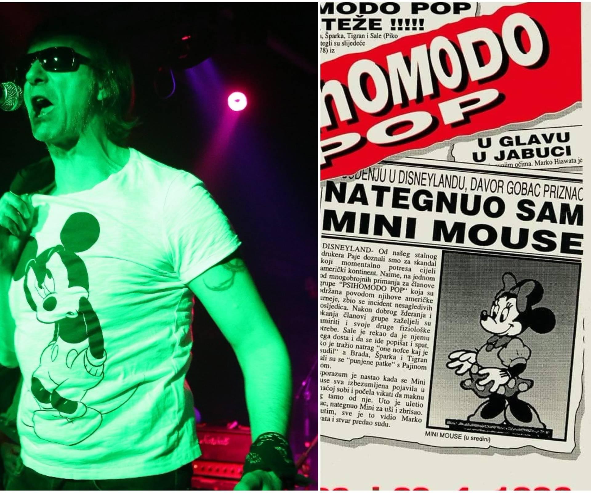 Davor Gobac nakon 25 godina opet 'nategnuo' Minnie Mouse