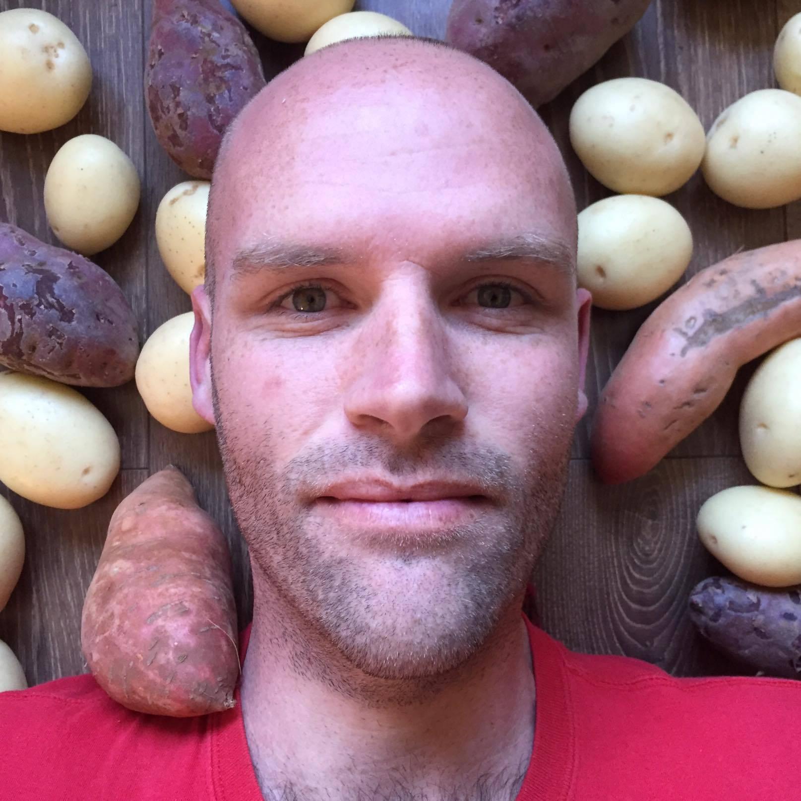 Muškarac koji je jeo samo krumpir