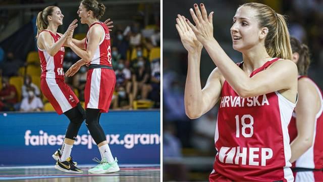 Kada već nisu dečki, jesu cure! Hrvatice razbile Češku i izborile osminu finala Eurobasketa