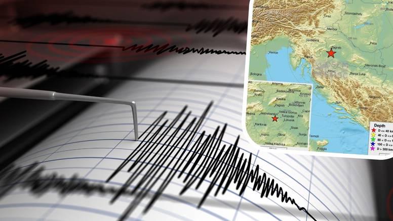 Blizu Siska zatreslo 3.8 Richtera