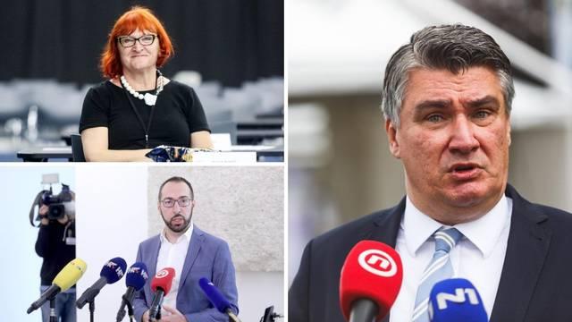 Milanović o Tomaševiću i Radi Borić: 'Je li i ovo neprimjereno?'