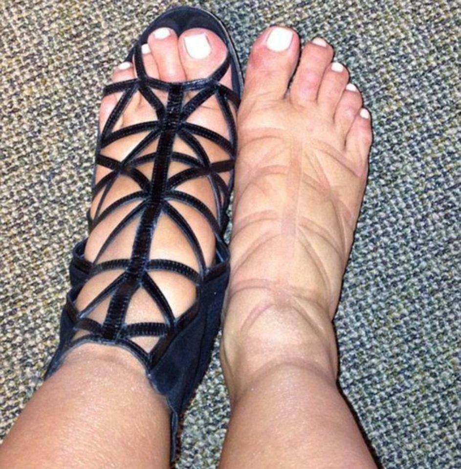 Kim i Cardi šokiraju: Vidi moje otečene noge, zamisli mi tijelo