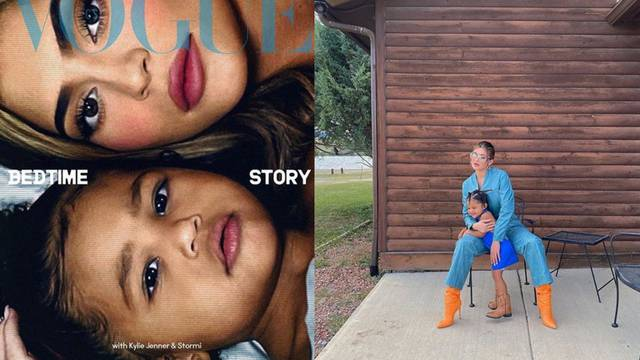 Mala Stormi (2) već je na coveru Voguea, skupa s mamom Kylie