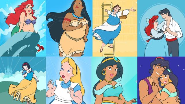 Nacrtala Disneyeve likove u XXL veličini: Svi trebaju voljeti život