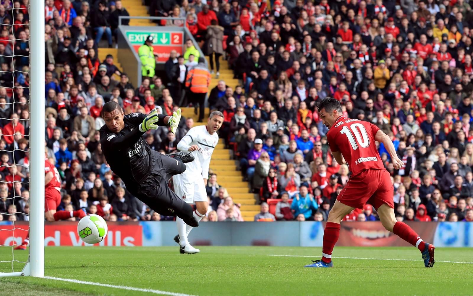 Liverpool Legends v Milan Glorie - Legends Match - Anfield Stadium