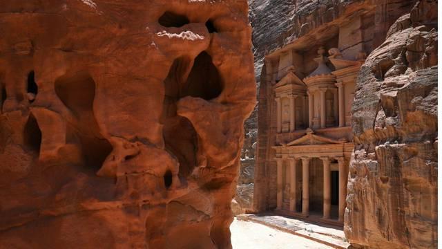 Drevni grad Petra sablasno je prazan zbog korona virusa, nigdje nema niti jednog turista
