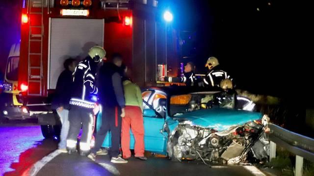 Vozač Honde teško ozlijeđen u sudaru s Audijem kod Bakarca