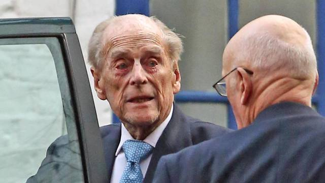 Duke of Edinburgh in hospital