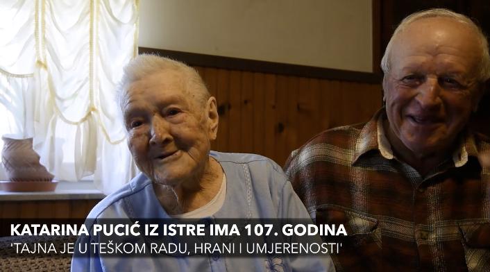 Najstarija Hrvatica (107): Meni nedostaje jedino zgodan mladić