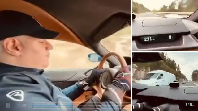 VIDEO Kruži snimka lude vožnje Nevere 230 km/h na cesti kod Dubrovnika, reagirali iz Rimca