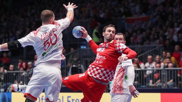 Graz: Hrvatska rukometna reprezentacija susrela se s Bjelorusijom u 2. kolu EP-a