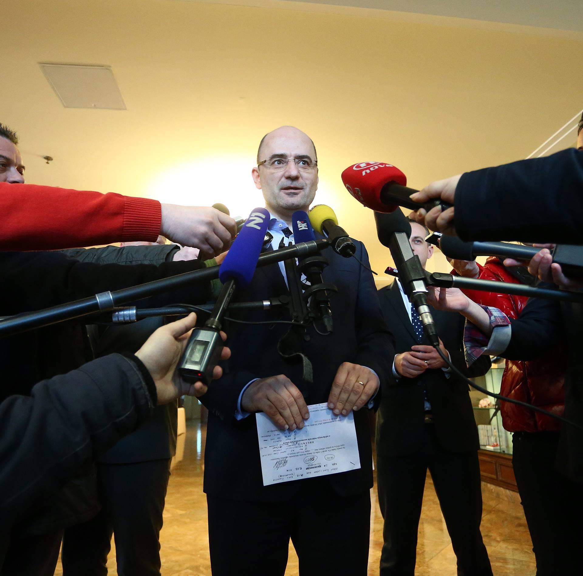 HDZ iz prkosa ne želi Đuru Glogoškog za novog ministra