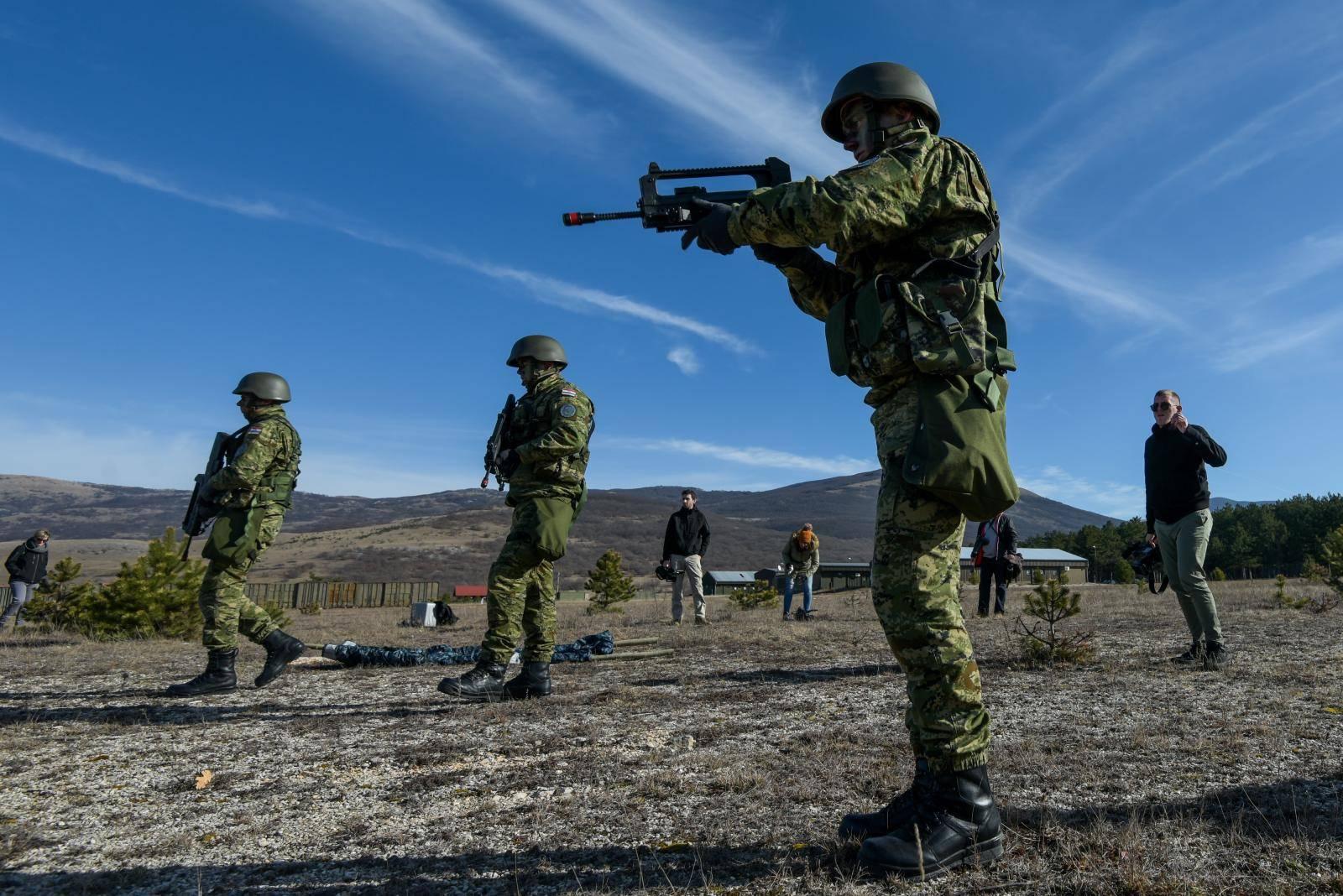 MORH uputio 33. kontingent u operaciju potpore miru Kosova