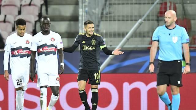 Champions League - Group D - FC Midtjylland v Ajax Amsterdam