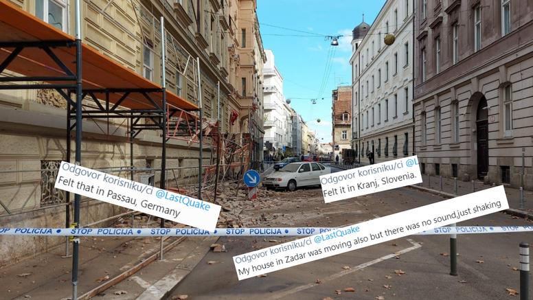 Potres se osjetio i u Njemačkoj: 'Ovo je bilo užasno!', 'Živim u Zadru i trese mi se kuća...'