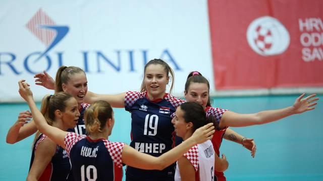 Zagreb: Kvalifikacije za Europsko prvenstvo 2019., žene, Hrvatska - Albanija
