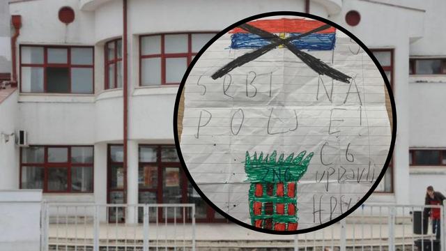U školi pjevala 'Čavoglave' pa zaprijetila nožem: 'Marš, Srbi'