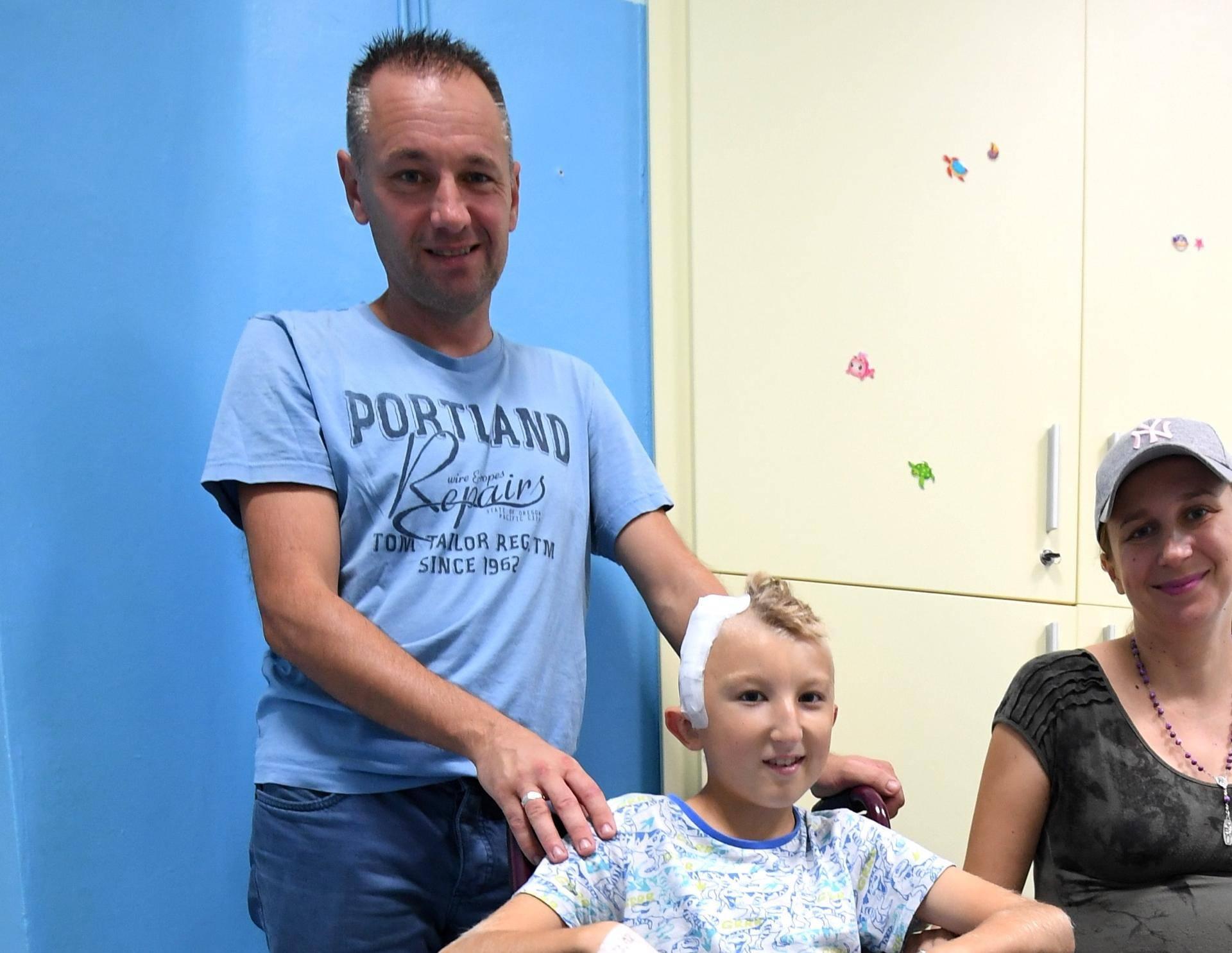 Hitna operacija lubanje:  Frana (11) su minute dijelile od smrti