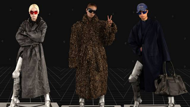 Balenciaga predlaže kapute za novo doba inspirirane vitezima