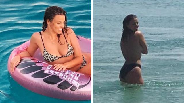 Natali Dizdar završila u toplesu, a komplimenti na fotku pljušte: 'Pa ne možeš nam to raditi...'