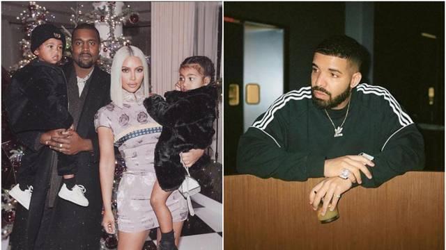 Drake prijetio Kim Kardashian i Kanyeu: Sukob ponovno planuo