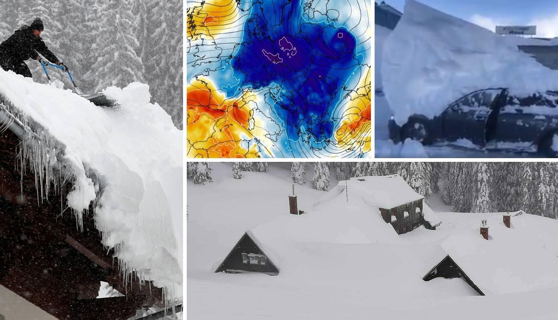 Nema kraja, stiže nova snježna oluja: 'Spavajte u prizemljima!'