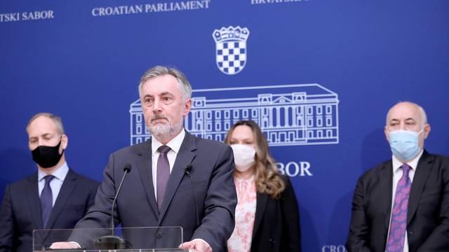 Zagreb: Miroslav Škoro o Vukovaru i državnom proračunu kao žrtvama HDZ-ove trgovačke koalicije