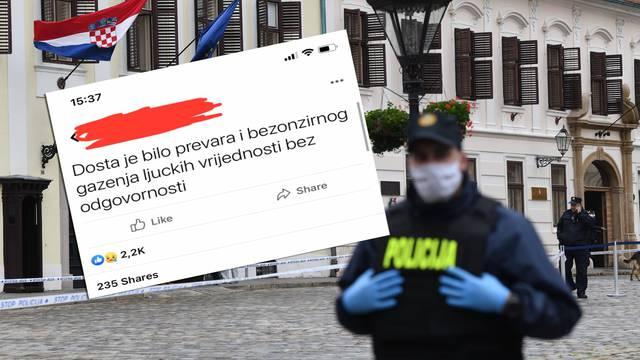 Napadaču s Markova trga profil na Facebooku više nije  aktivan