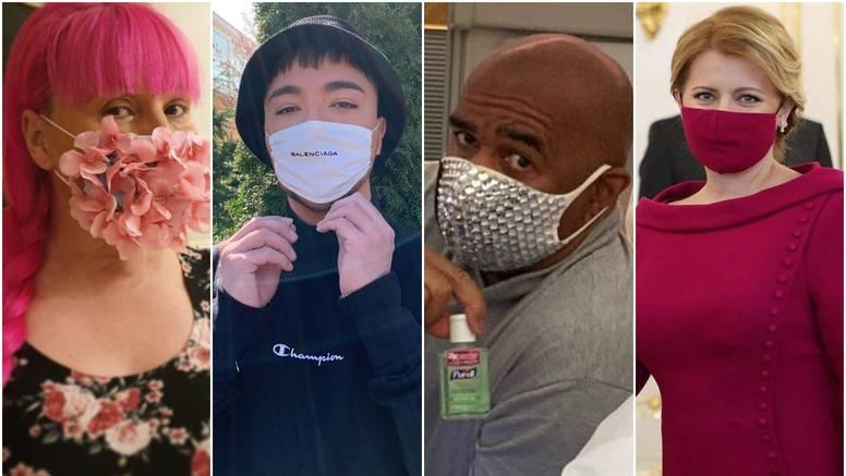 Moda u doba korone: Kupuju se brendirane i maske s kristalima