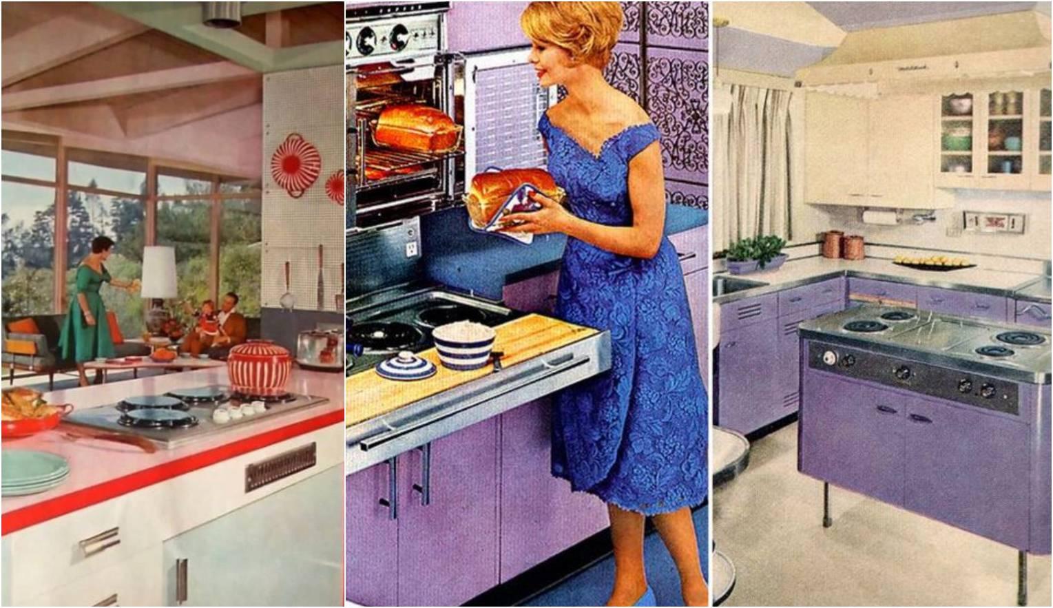 Pogledajte kako je izgledala moderna kuhinja u šezdesetima