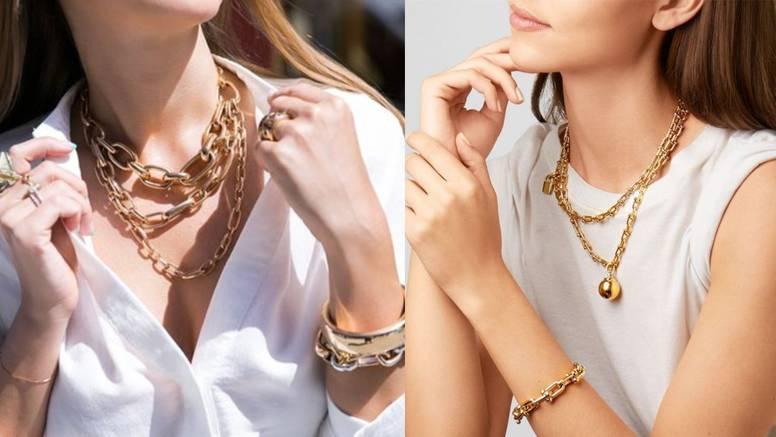 Zlatna ogrlica za instant glamur