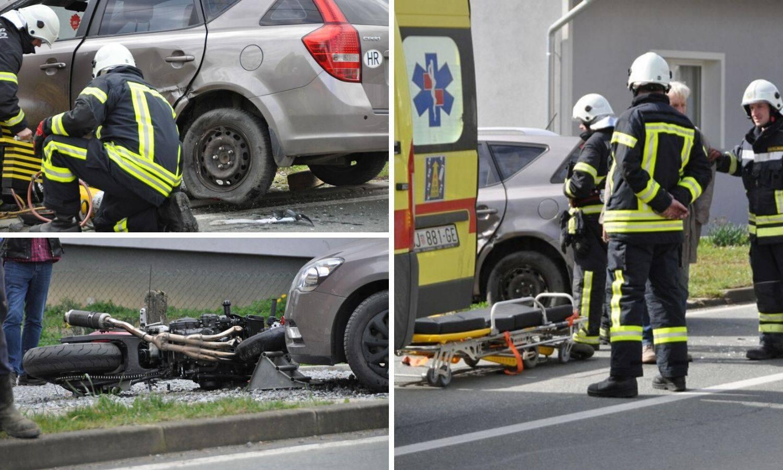 Mladić (25) poginuo u Čazmi. Vozio je brzo i zabio se u auto