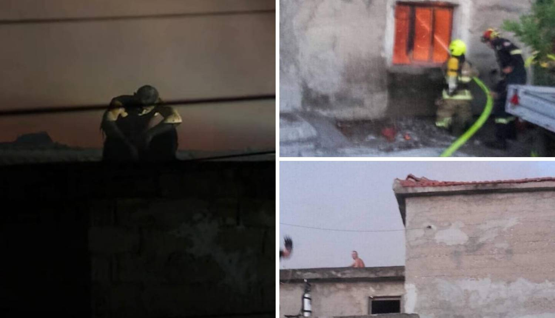 Zapalio kuću i velikim nožem ozlijedio policajce u Opuzenu