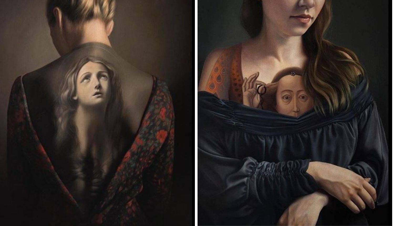 Umjetnica slavna remek djela pretvara u prekrasan body art
