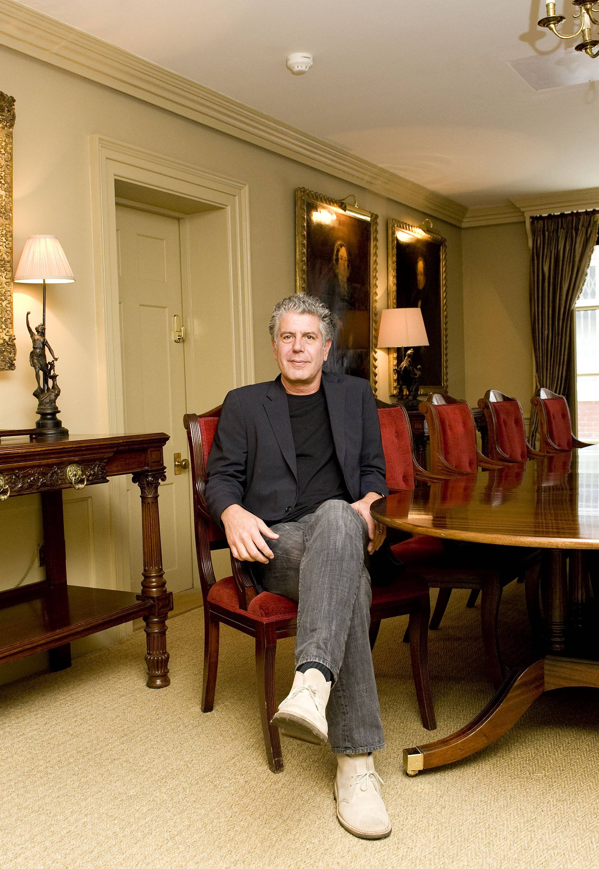 Anthony Bourdain photocall - London