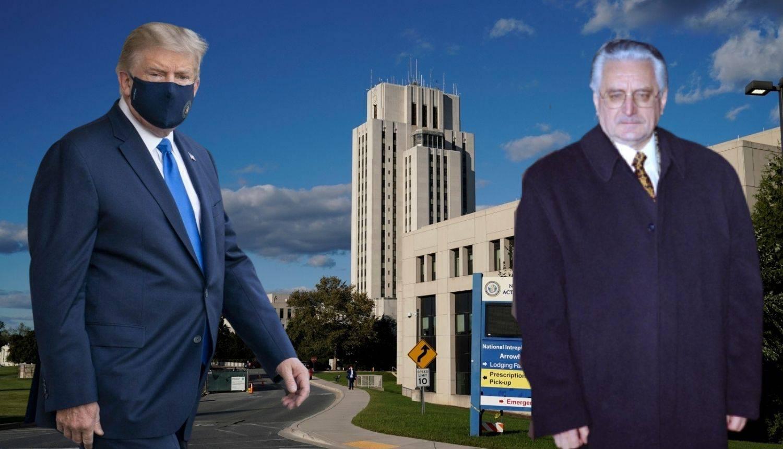 Trump se liječi u istoj bolnici u kojoj je Tuđman tajno operiran